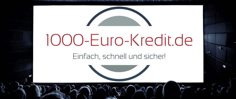 1000EuroKredit.de – Einfach, schnell und sicher!